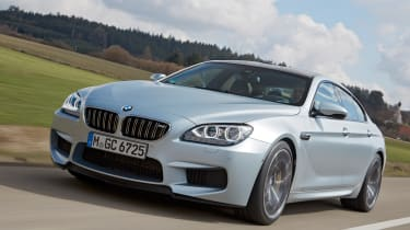 BMW M6 Gran Coupe front tracking