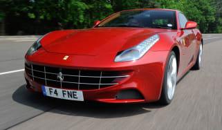 Ferrari FF front tracking