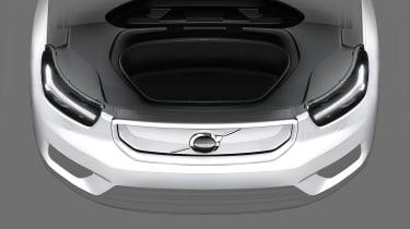 Volvo XC40 EV teaser - frunk