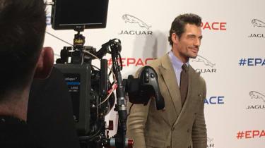 Jaguar E-Pace launch - celebrity