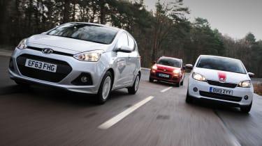 Hyundai i10 vs rivals