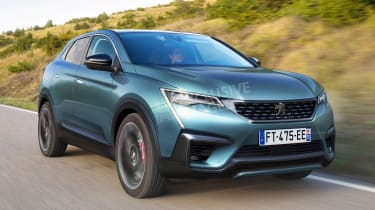 Peugeot 4008 - front (watermarked)