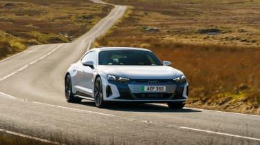 Audi e-tron GT - front cornering