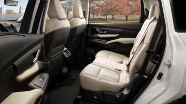 Subaru Ascent - back seats