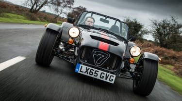 Caterham Seven 620S - front action