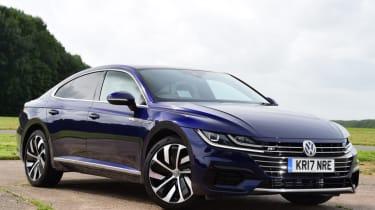 Volkswagen Arteon review - static front