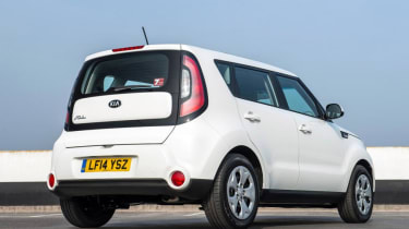 Used Kia Soul - rear