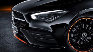 Mercedes CLA - studio front detail