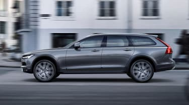 Volvo V90 Cross Country - official side tracking