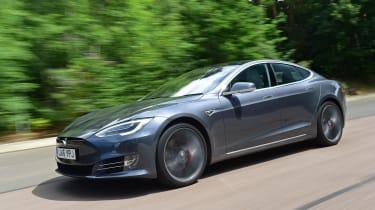 Tesla Model S 2016 facelift tracking