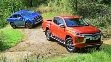 Mitsubishi L200 vs Ford Ranger - header