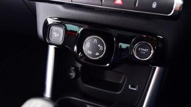 Citroen C3 Aircross - centre console
