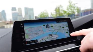 BMW 5 Series long termer - first report sat-nav