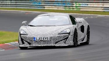 McLaren 600LT spy shots