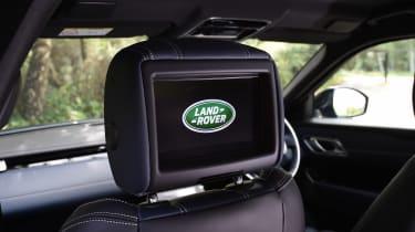Range Rover Velar - seat screens
