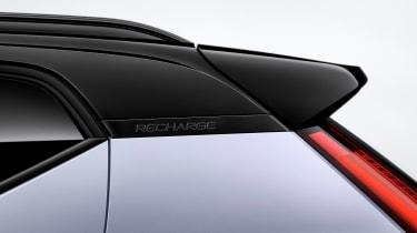 Volvo XC40 P8 Recharge - roof