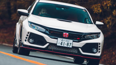Honda Civic Type R front grille