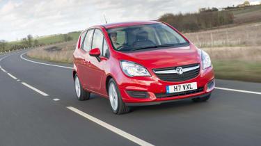 Vauxhall Meriva 2014 facelift - driving
