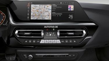 New BMW Z4 central screen