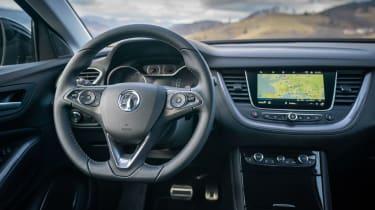 Vauxhall Grandland X Hybrid4 - dash