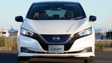 2017 Nissan Leaf - front