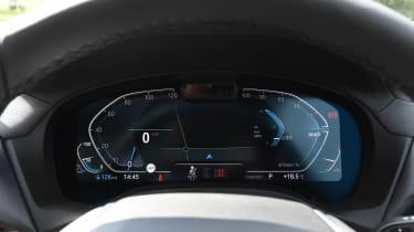 BMW iX3 - dials