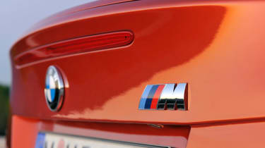 BMW 1 Series M Coupe badge