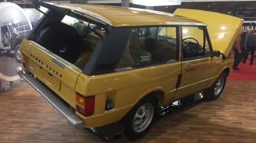 Range Rover Reborn rear - Retromobile