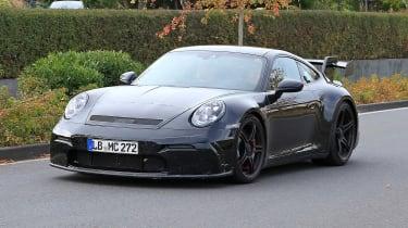 992 Porsche 911 GT3 - Spied Front