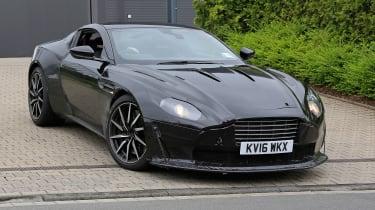 Aston Martin V8 Vantage spy shot - front