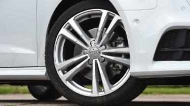 Audi A3 vs Volvo V40 vs Volkswagen Golf - A3 alloy wheel