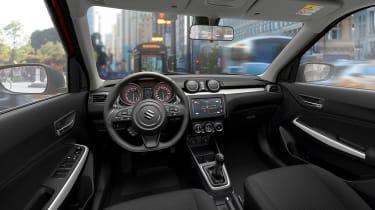 New Suzuki Swift - dash