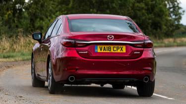 Mazda 6 - rear cornering
