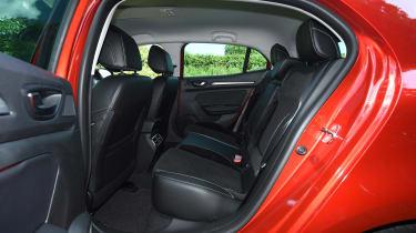 Renault Megane diesel - rear seats