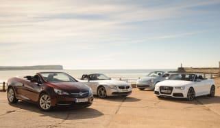 Vauxhall Cascada vs rivals