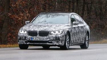 BMW 7 Series spyshots front 2
