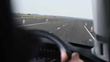 Volvo XC90 driver view