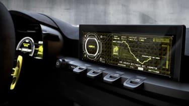 Kia Niro concept dashboard