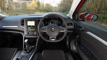 Honda Civic vs Volkswagen Golf vs Renault Megane - megane interior