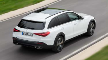 Mercedes C-Class All-Terrain - rear tracking