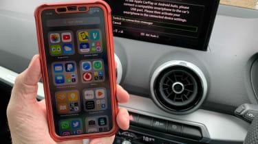 Audi Q2 35 TFSI long termer - final report Apple CarPlay