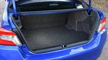 Subaru WRX STi Final Edition - boot