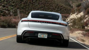 Porsche Taycan 4S - full rear