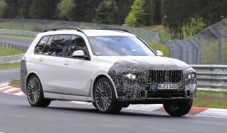 BMW X7 spy - front