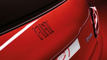 Fiat (500)RED - badge