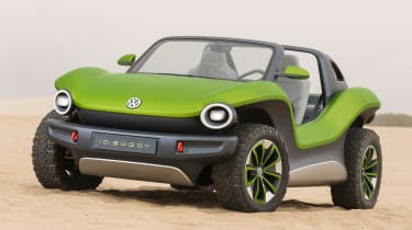 Volkswagen ID. Buggy concept - front static
