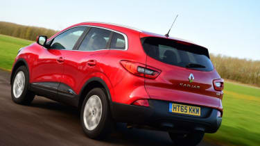 Used Renault Kadjar - rear action