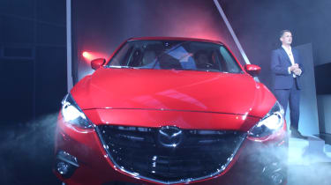 New Mazda 3 revealed front grille