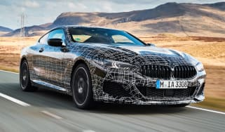 BMW 8 Series - front