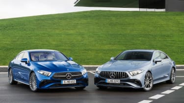 Mercedes CLS and Mercedes-AMG CLS 53